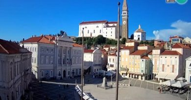 Piran – Tartini Platz, Webcam in Slowenien